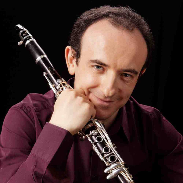 Pavel Vinnitsky with clarinet
