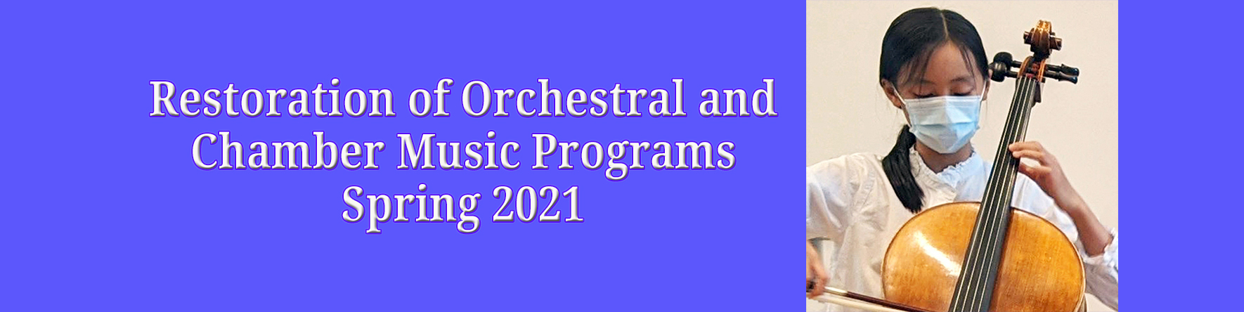 Spring Orchestra and Chamber Music Instruction