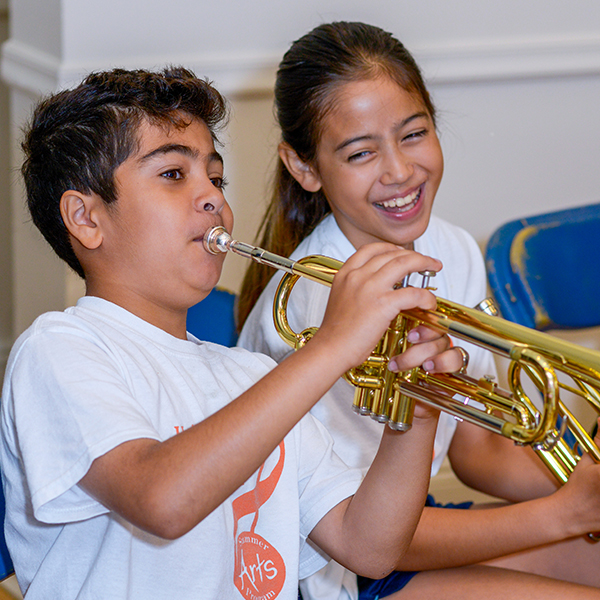 Trumpet Students Summer Arts Program